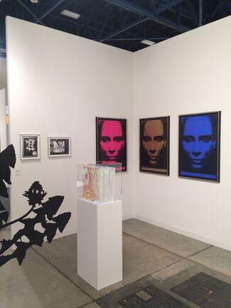 Galerie Sabine Knust at Art Basel in Miami Beach 2015, installation view