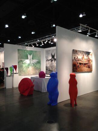 Galleria Ca' d'Oro at LA Art Show 2015, installation view