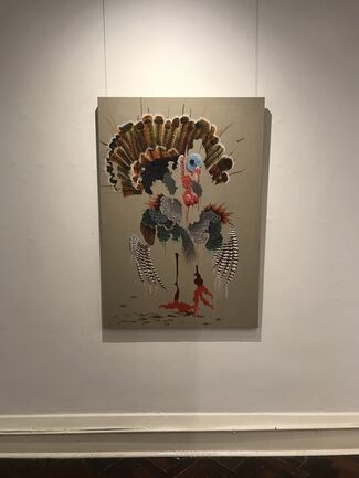 Josh Robbins: Boujour Mamacita, installation view