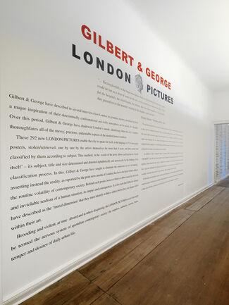 ARNDT Berlin | GILBERT & GEORGE | London Pictures, installation view
