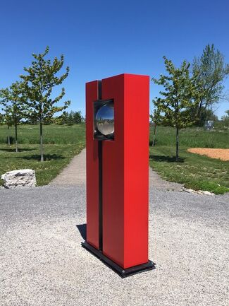 Outdoor Sculpture Garden Exhibition 2017, installation view