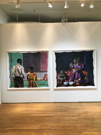 Christopher Moller Gallery at SCOPE New York 2017, installation view