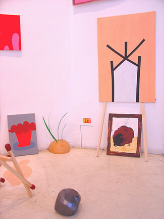 VEO GENTE MUERTA - Juan Céspedes, installation view