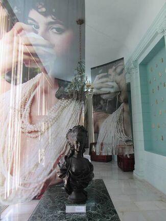 MARIA ANTOINIETA Impronta de una reina  .  NOLI ME TANGERE solo show of Alice Guittard in dialogue with cuban national collections, installation view