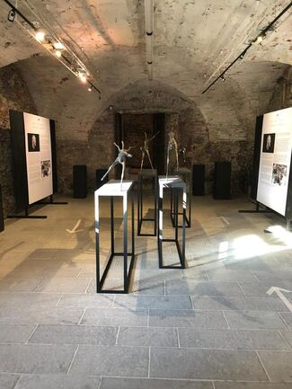 The Flying Horses - Solo Exhibition, installation view