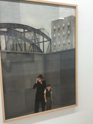 Flatland Gallery at Amsterdam Art Fair 2017, installation view