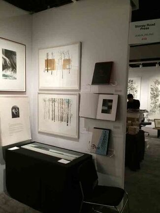 Stoney Road Press at IFPDA Print Fair 2014, installation view