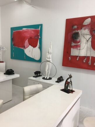 Winter Show at Alberto Linero Gallery, installation view