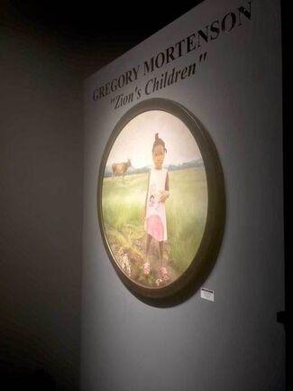 """Gregory Mortenson """"Zion's Children"""", installation view"""