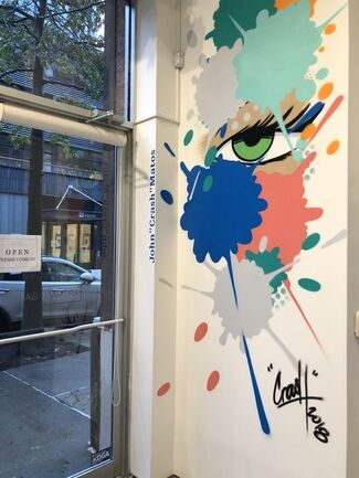 "CONCRETE JUNGLE: Featuring John ""CRASH"" Matos  - New York, installation view"