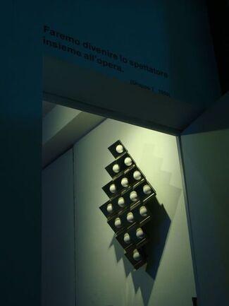 L'invadenza della tecnologia, l'impossibilità di evitarla - Getulio Alviani, Joel Stein vs Enrico T. De Paris, installation view