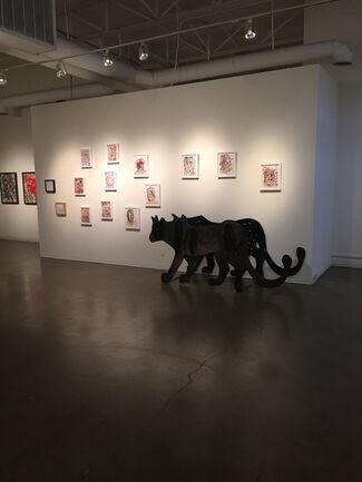 Jules Buck Jones - Portraits of an Invisible Predator, installation view