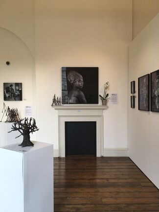 (S)ITOR at 1:54 London 2017, installation view