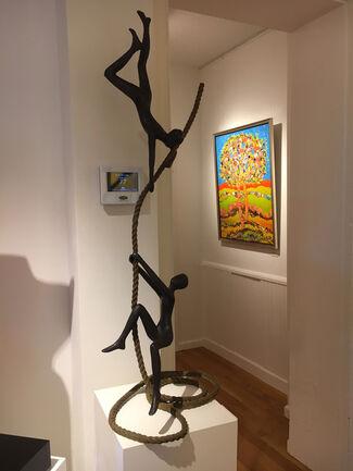 """TOLLA Inbar - """"New Works"""", installation view"""