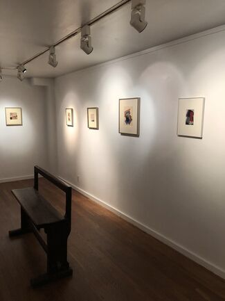 Janet Malcolm: Collages, installation view