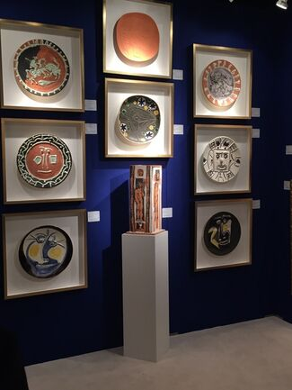 Masterworks Fine Art Gallery at the NY Fall Show Art Antiques and Jewelry 2015, installation view
