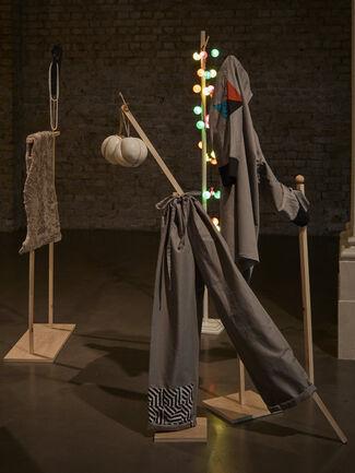 Corin Sworn   Silent Sticks, installation view