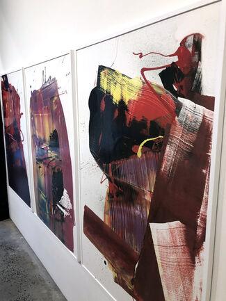 "THE BACK ROOM NYC: Featuring ANJA VAN HERLE, ANTHONY HUNTER, JOHN ""CRASH"" MATOS, GREG MILLER + MATT DEVINE, installation view"