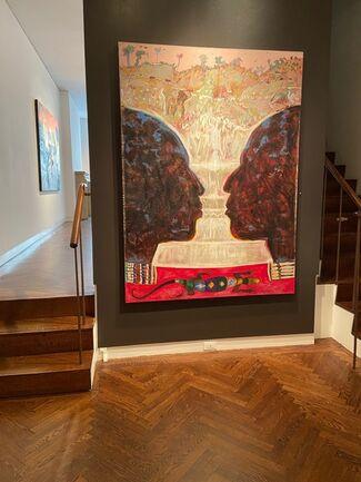 Maurice Burns, installation view