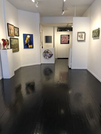 Emerging to Established summer group show, installation view