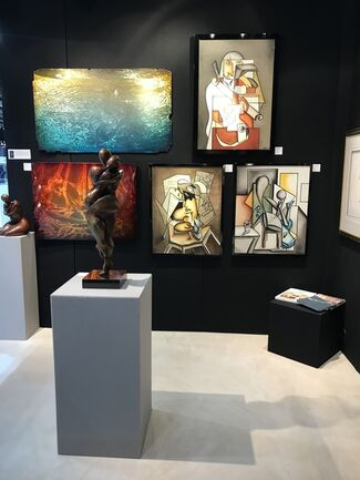 Palm Beach Jewelry, Art & Antique Show, installation view