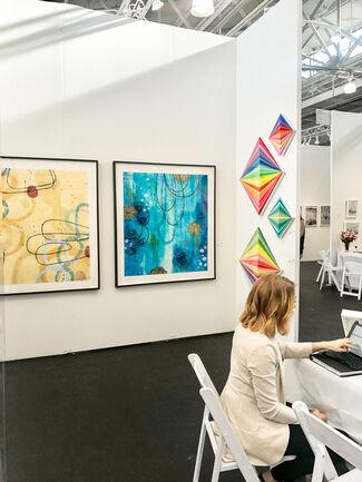 Newzones at Art Market San Francisco 2017, installation view