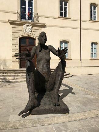 """Marc PETIT """"Au fil du bronze"""" en Provence, installation view"""