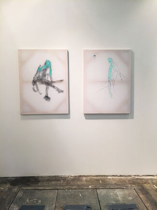 Johannes Vogt Gallery at ARTBO 2015, installation view