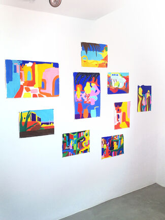 Todd James - The Gods Are Smiling on Us -  Residency Show, installation view
