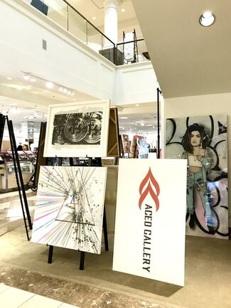 """NORDSTROM """"SYNERGY"""" ART & FASHION, installation view"""