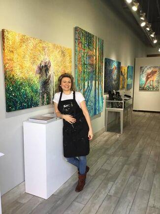 Finger Painter Iris Scott Solo Show, installation view