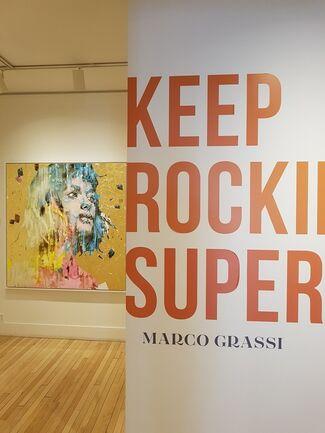 Keep Rockin' Superstar, installation view