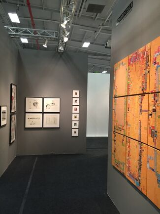 Edward Cella Art and Architecture at Art on Paper 2015, installation view