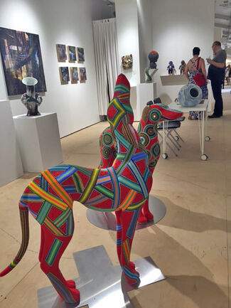 Duane Reed Gallery at SCOPE Miami Beach 2015, installation view