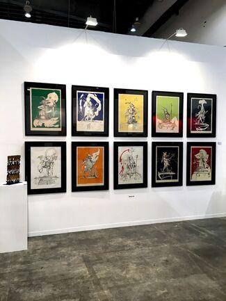 BOCCARA ART at ZⓈONAMACO 2020, installation view