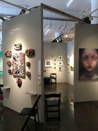 BoxHeart at Superfine! NYC 2018, installation view