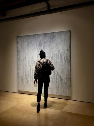 Michael Batty: Traces -  Selected Work From The Cut Line Abstractions Series, installation view