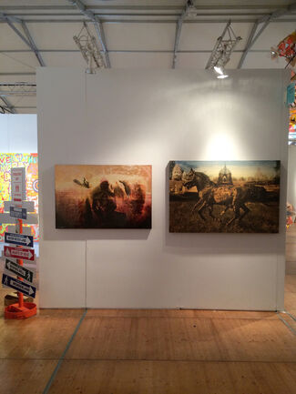 Spectrum Miami Art show, installation view