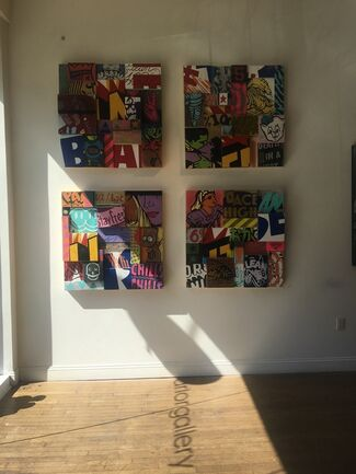 8 is Great: 8 Years of Parlor Gallery, installation view