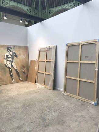 Galerie Ange Basso at Art Paris Art Fair 2018, installation view