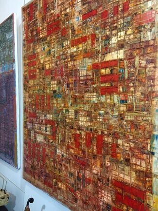 """Levan Lagidze: Bach Exercises"" London, installation view"