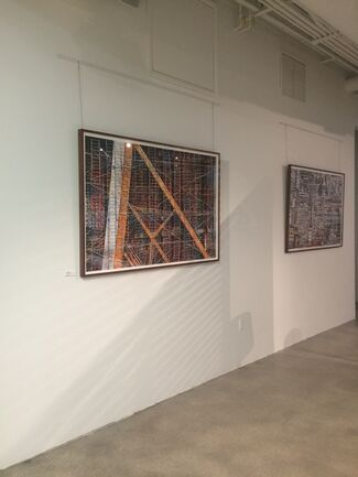 Frameworks II: Photographs by Jill Peters at the Poltrona Frau Group, Miami, installation view