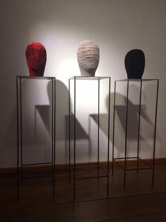 Salzburg: ALFRED HABERPOINTNER - Wooden Body & Head Work, installation view