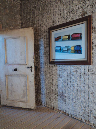 Jahresringe - ancient architecture meets 14 contemporary artists, installation view