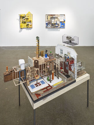 City House Models, installation view