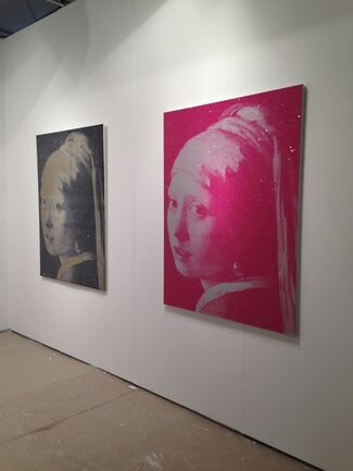 Antoine Helwaser Gallery at Art Southampton 2014, installation view