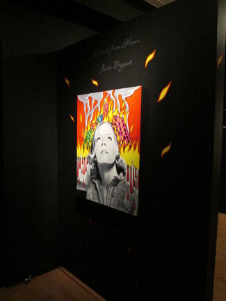 Letters From Home: New Paintings by Jason Bryant, installation view