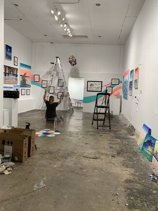 Drica Lobo: Decoding The Flow, installation view