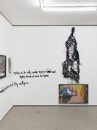 Debo Eilers - No Pushing, No Stealing, installation view