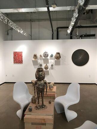 Richard Heller Gallery at Dallas Art Fair 2017, installation view
